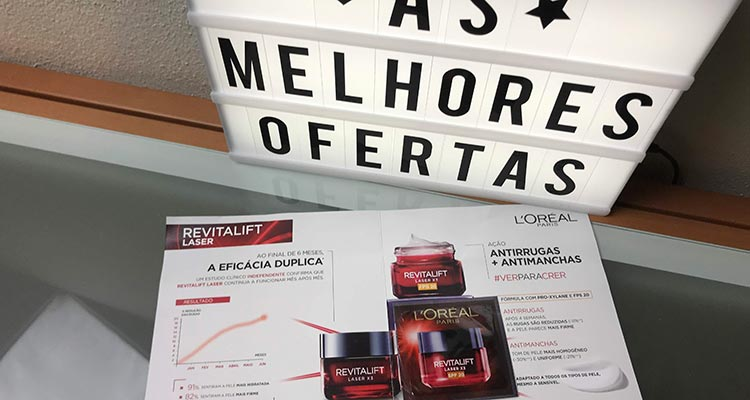 Photo of Recebido – Revitalift Laser X3