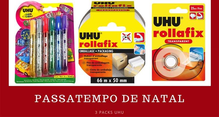 Ganha 1 Pack de Produtos UHU