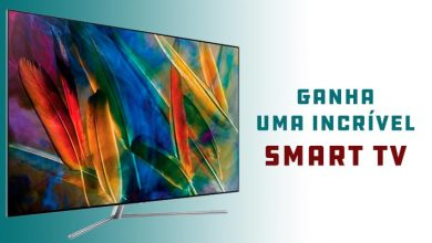 Ganha 1 Smart TV