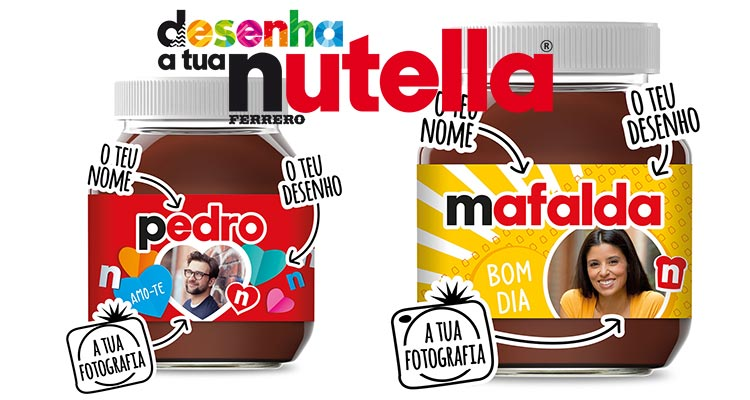 Photo of Desenha a tua Nutella