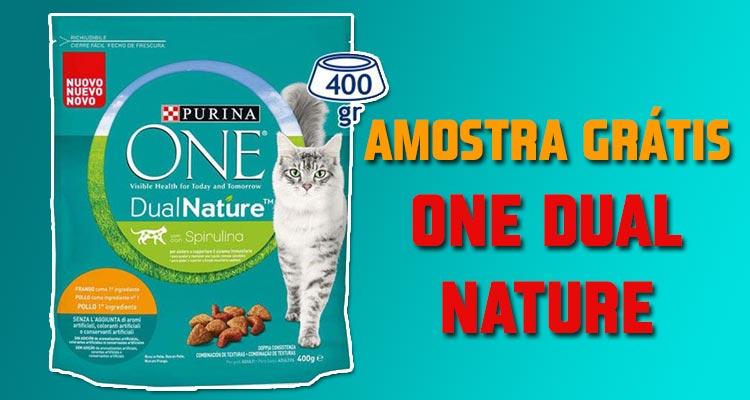 Amostra Grátis Purina One Dual Nature