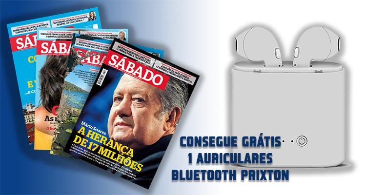 Consegue Grátis 1 Auriculares Bluethooth