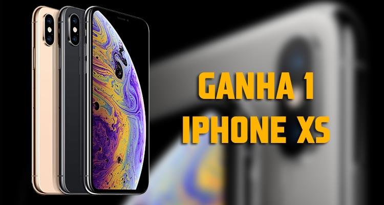Ganha 1 iPhone XS