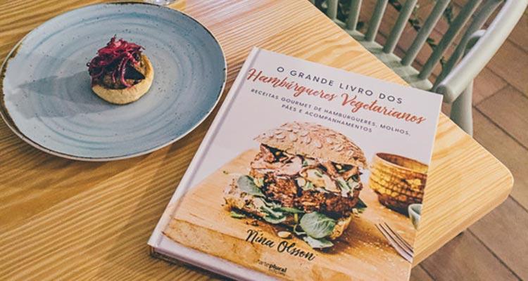 Ganha O Grande Livro dos Hambúrgueres Vegetarianos