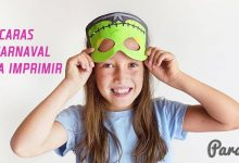 Máscaras de Carnaval para Imprimir Grátis
