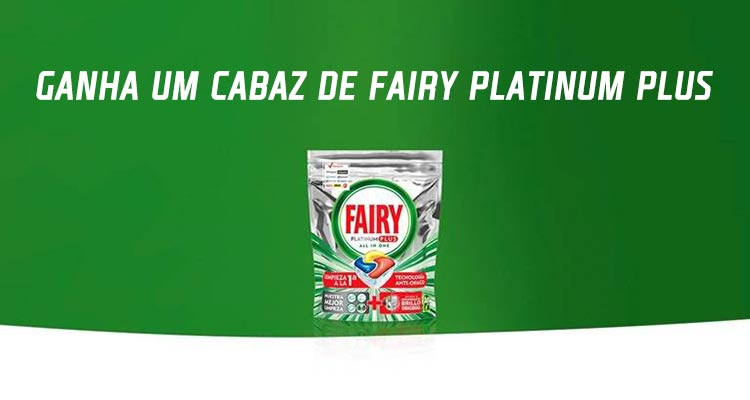 Photo of Ganha 1 Cabaz Fairy Platinum Plus