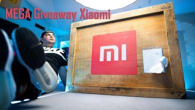 Mega Giveaway Xiaomi