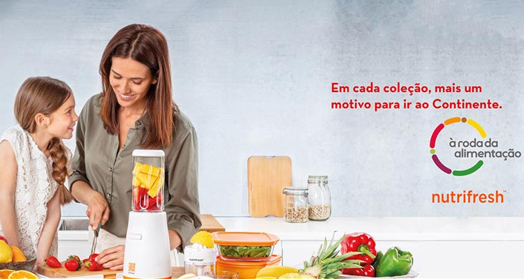 Photo of Nova Colecção Continente Nutrifresh