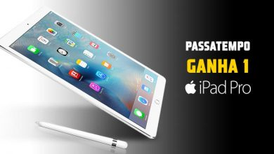 Ganha 1 iPad Pro