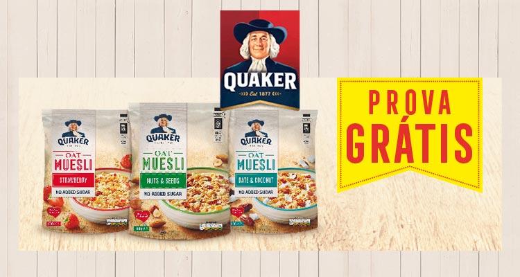 Photo of Prova Grátis os Cereais Quaker