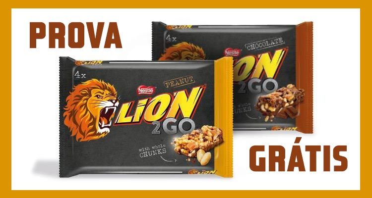 Photo of Prova Grátis o Chocolate Lion