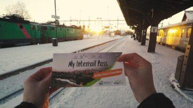 Ganha 1 Passe Interrail Grátis