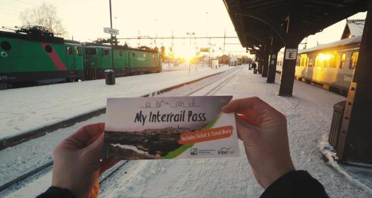 Photo of Consegue 1 Pass Interrail Grátis