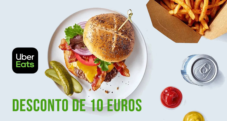 Photo of Uber Eats – Desconto de 10 Euros