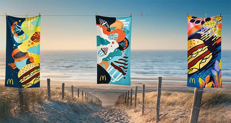 Photo of Toalhas de Praia McDonald's Verão 2019