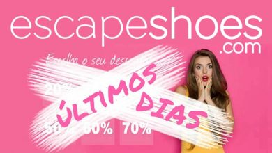 Photo of Descontos em Sapatos na Escapeshoes