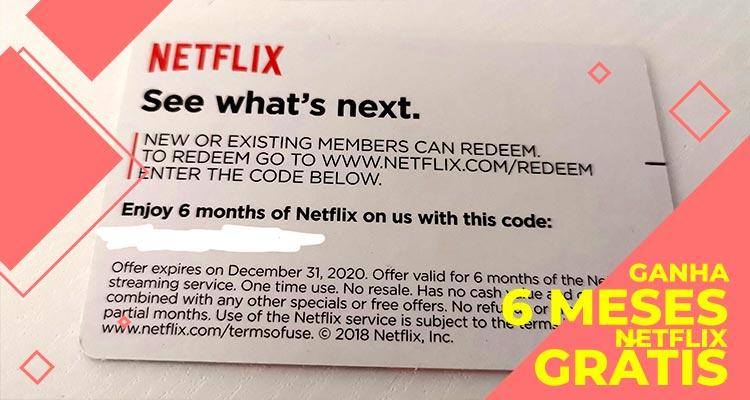 Photo of Ganha 6 Meses de Netflix Grátis