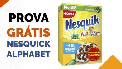Photo of Prova Grátis Nesquick Alphabet