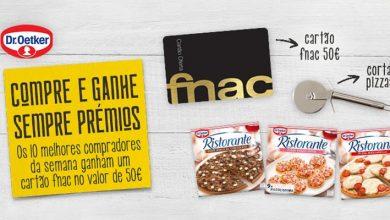 Photo of Ganha Cartões FNAC com 50 Euros e Corta-Pizzas