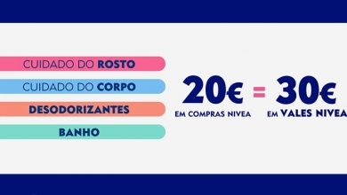 Photo of 30 Euros em Vales Nivea