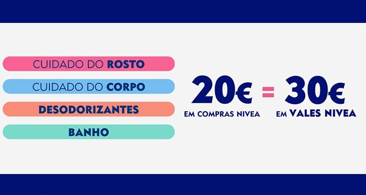 Photo of 30 Euros em Vales Nivea