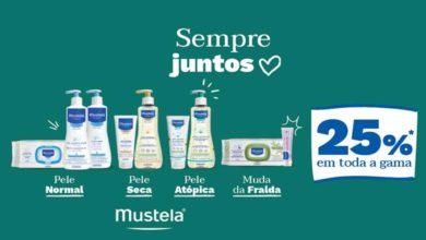 Photo of Mustela com 25% de Desconto