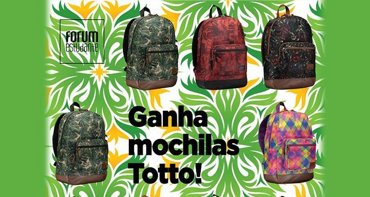 Photo of Ganha Mochilas Totto