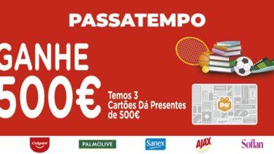 Photo of Ganha Cartões de 500 Euros